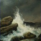 The Wave Gustave Dore Poster 20X30 Art Print