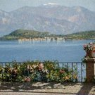 View of the Isola Bella Italy Angelo Morbelli Poster 20X30 Art Print