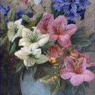 Vase Azaleas Hyacinth Charles Henry Slater Poster 20X30 Art Print