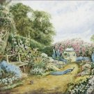 An English Country Garden Henry Stannard Poster 20X30 Art Print