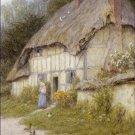 Out for a Walk Helen Allingham Poster 20X30 Art Print
