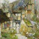 Old Cottage Church Stretton Shropshire David Woodlock Poster 20X30 Art Print