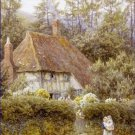 Pine Tree Cottage Helen Allingham Poster 20X30 Art Print
