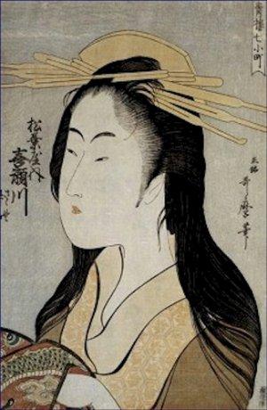 Portrait of Kisegawa of Matsubaya Kitagawa Utamaro Poster 20X30 Art Print