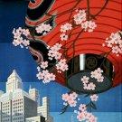 20X30 Art Deco Travel Poster Tokyo