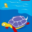 Poster Baby Toddler Sea Turtles 16X20 Art Print