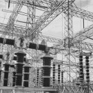 Ansel Adams Black and White Photo 8X10 Electrical Wires Boulder Dam