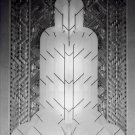 Black and White Photo 8X10 Art Deco Fountain of Light