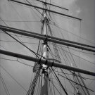 Black and White Photo 8X10 Mainmast of the Ship Balclutha