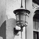 Black and White Photo 8X10 Lantern High Gate Carriage House