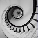 Black and White Photo 8X10 Staircase Captain Charles Shrewsbury House