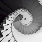 Black and White Photo 8X10 Staircase Faro de las Cabezas de San Juan