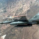 F-16 Fighting Falcon photo fires AIM 9P4 Sidewinder missile Photograph 8X10