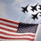 US Navy Blue Angels F-18 Hornets Photograph 8X12