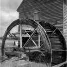 Black and White Photo 8X10 Poplar Grove Tide Mill Virginia