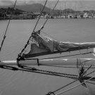 Black and White Photo 8X10 Bowsprit Schooner Alma