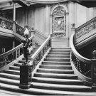 Black and White Photo 8X10 Titanic Grand Staircase