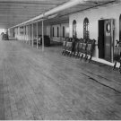 Black and White Photo 8X10 Titanic 1st Class Great Promenade Deck