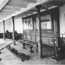 Black and White Photo 8X10 Titanic Gymnasium