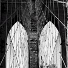 Black and White Photo 8X10 Brooklyn Bridge nbr 4