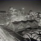 Black and White Photo 8X10 Skyline of Manhattan Pennsylvania Station Area