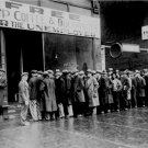 Depression Era Photo 8X10 Soup Line in Chicago