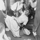 Civil Rights Photo 8X10 African American woman being carried police patrol wagon
