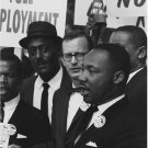 Civil Rights Photo 8X10 Dr Martin Luther King Jr Mathew Ahmann