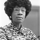Civil Rights Photo 8X12 Congresswoman Shirley Chisholm