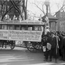 Womens Rights Photo 8X10 Womens Suffrage Bus District of Columbia Washington DC 1919