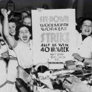 Labor Unions Photo 8X12 Woolworth Strike 1937