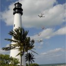 Cape Florida Lighthouse Poster 20X30 Art Print