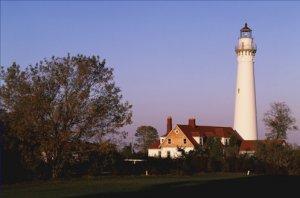 Windpoint Lighthouse Light Wisconsin Poster 20X30 Art Print