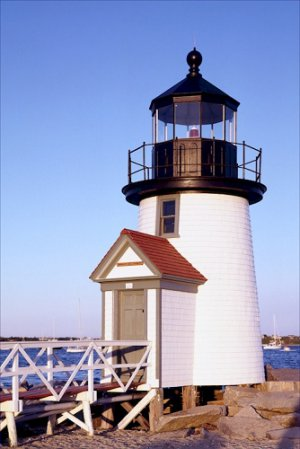 Brant Point Lighthouse Mass Poster 20X30 Art Print