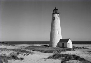 Great Point Nantucket Lighthouse Massachusetts Poster 20X30 Art Print