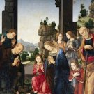 Adoration of the Shepherds Lorenzo di Credi Poster 20X30 Art Print
