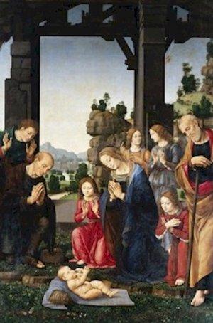 Adoration of the Shepherds Lorenzo di Credi Poster 20X30 Art Print