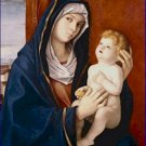 Madonna and Christ Child Giovanni Bellini Poster 20X30 Art Print