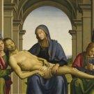 Pieta Perugino Poster 20X30 Art Print