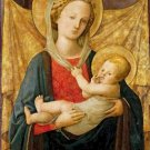 Virgin and Child by Filippo Lippi Poster 20X30 Art Print