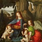 Virgin of the Rocks or Madonna of the Rocks Poster 20X30 Art Print