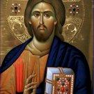 Christ Pantocrator Icon Poster 20X30 Art Print
