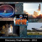 Space Shuttle Discovery STS-133 Tribute Poster 20X30 Art Print
