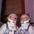 Gemini Photos 8X10 Gemini 4 Titan Pre-launch Activities Astronauts Ed White Jim McDivitt