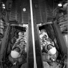 Gemini Photos 8X12 Gemini Astronauts McDivitt and White Simulate Launch