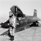 Astronaut Pilot Neil Armstrong and X-15 nbr 1 8X10 Photo