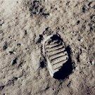 Apollo 11 Bootprint on Moon Neil Armstrong 8X10 Photograph