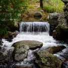 Acadia National Park Water Fall 11x14 Photograph