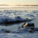 Acadia National Park Winter Sea Smoke 11x14 Photograph