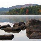 Acadia National Park Eagle Lake View 12x16 Canvas